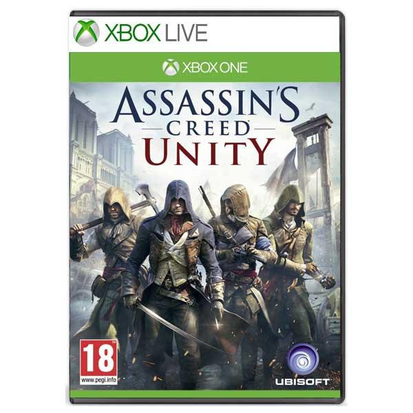 Joc Assassins Creed: Unity Xbox One (Cod de activare XBOX LIVE) 0