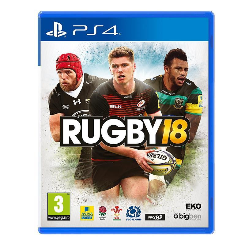 Joc Rugby 18 Ps4 0