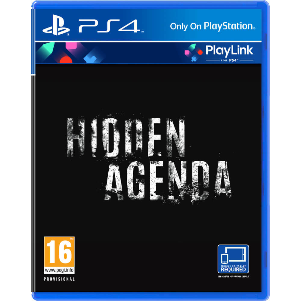 Joc PS4 Hidden Agenda 0