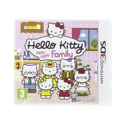 Joc Hello Kitty Happy Happy Family Nintendo 3Ds 0