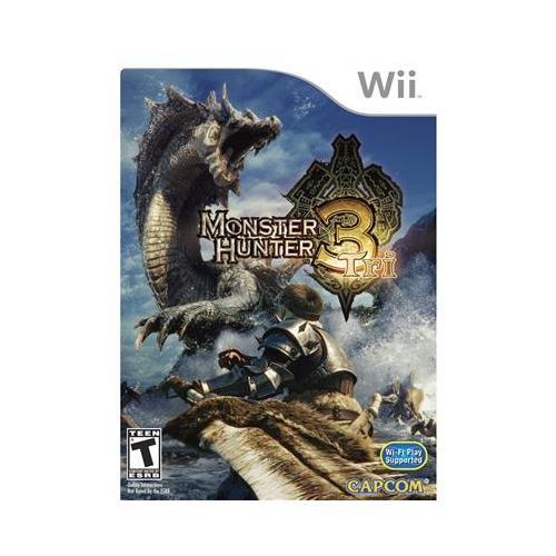 Joc Monster Hunter 3 Tri Nintendo Wii 0