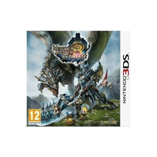 Joc Monster Hunter 3 Ultimate Nintendo 3Ds 0