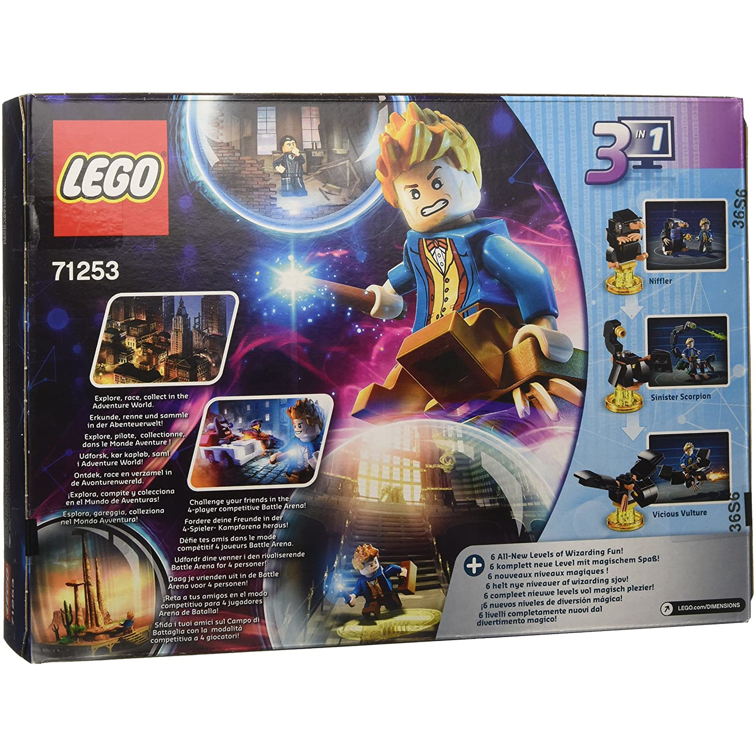 Set Figurine Lego Dimensions Story Pack Fantastic Beasts 1