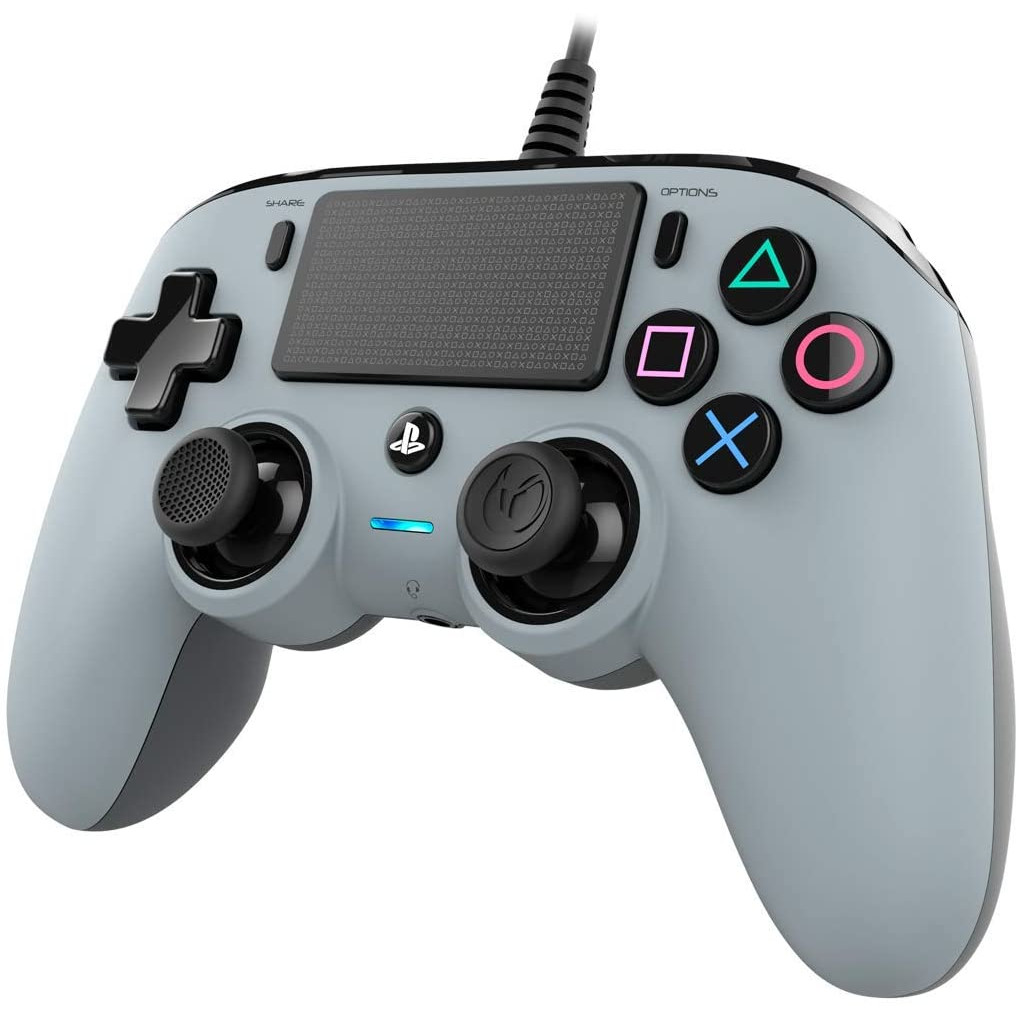 Controller Nacon Wired Compact Color Edition Silver Ps4 5