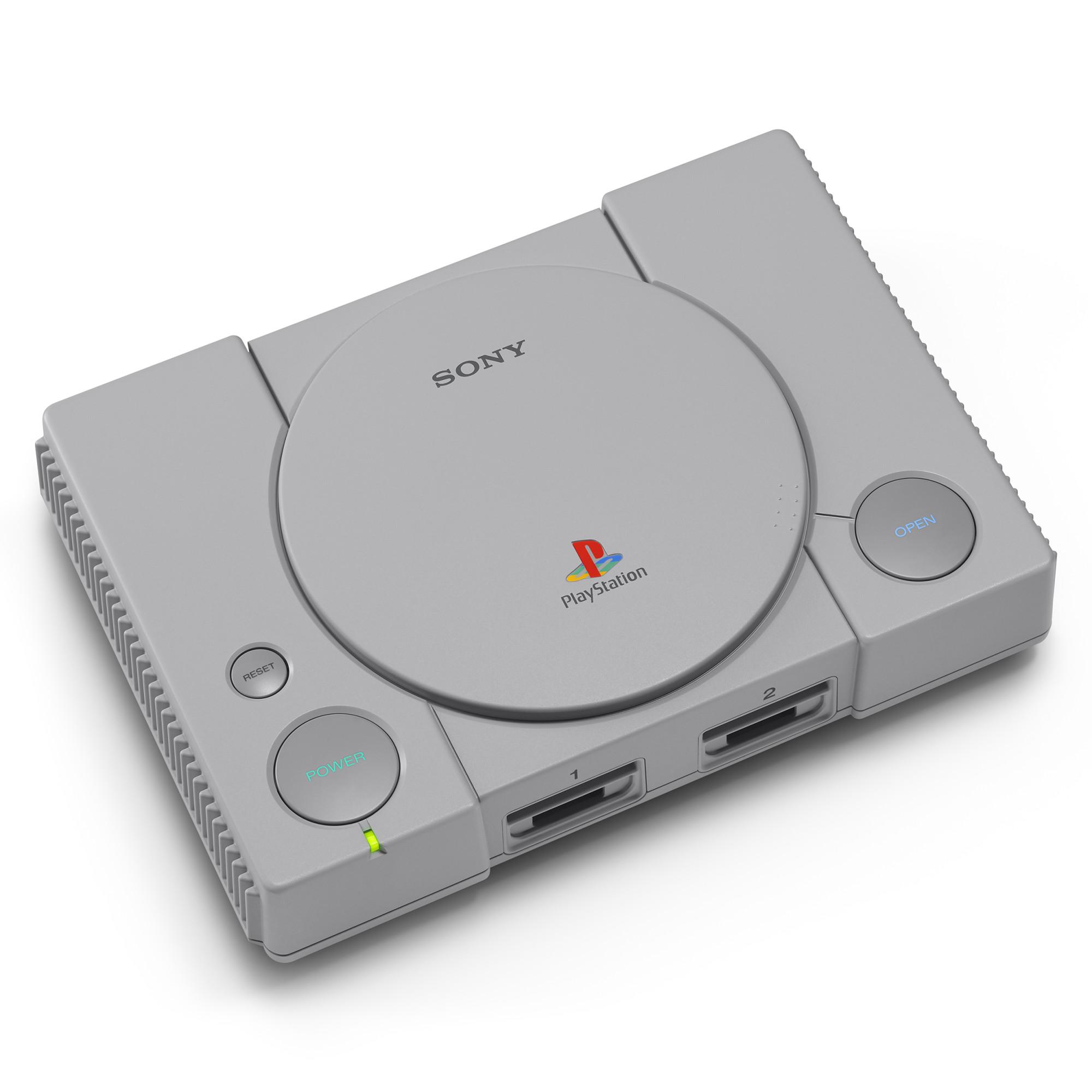 Consola Sony Playstation Classic + 20 jocuri preinstalate 2