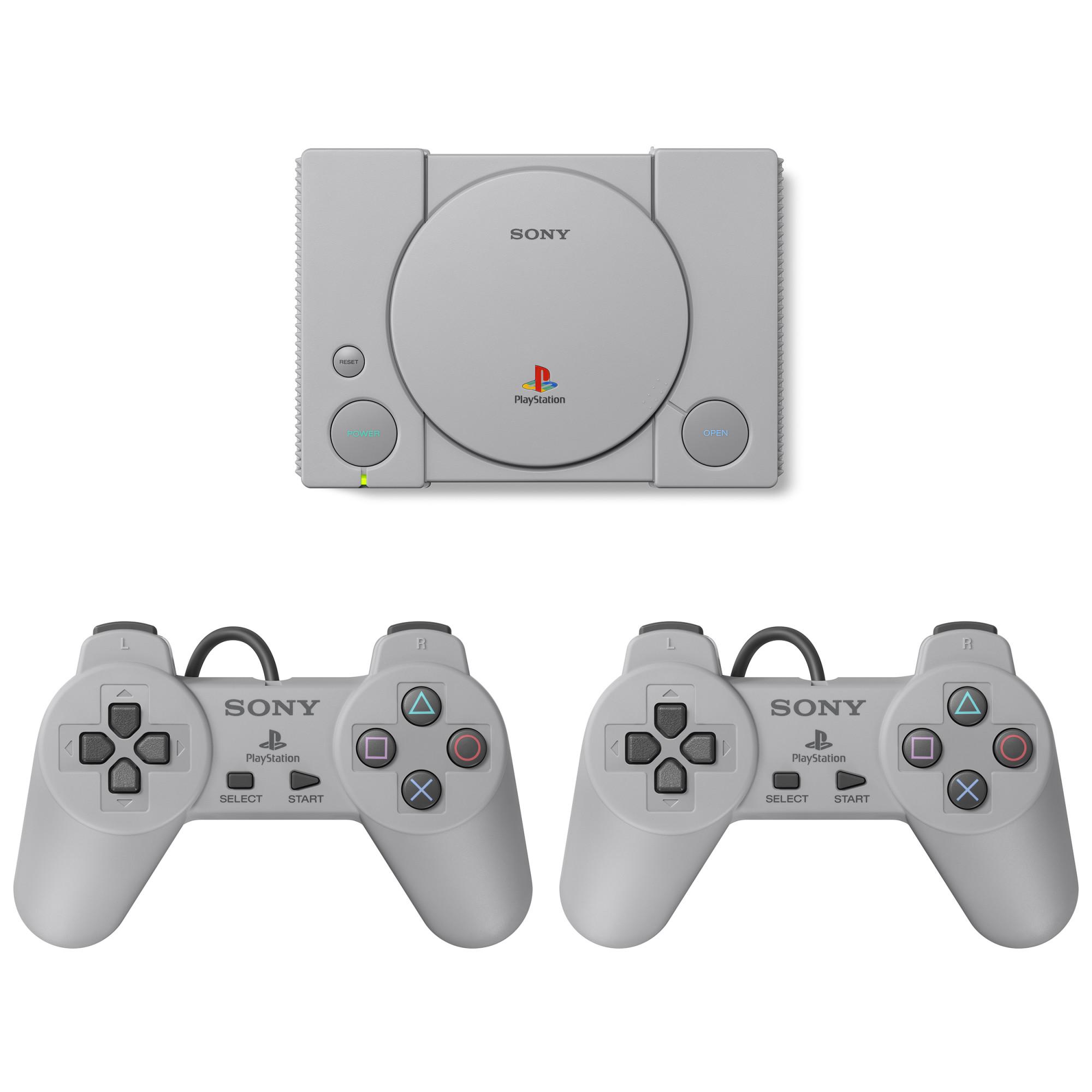 Consola Sony Playstation Classic + 20 jocuri preinstalate 0