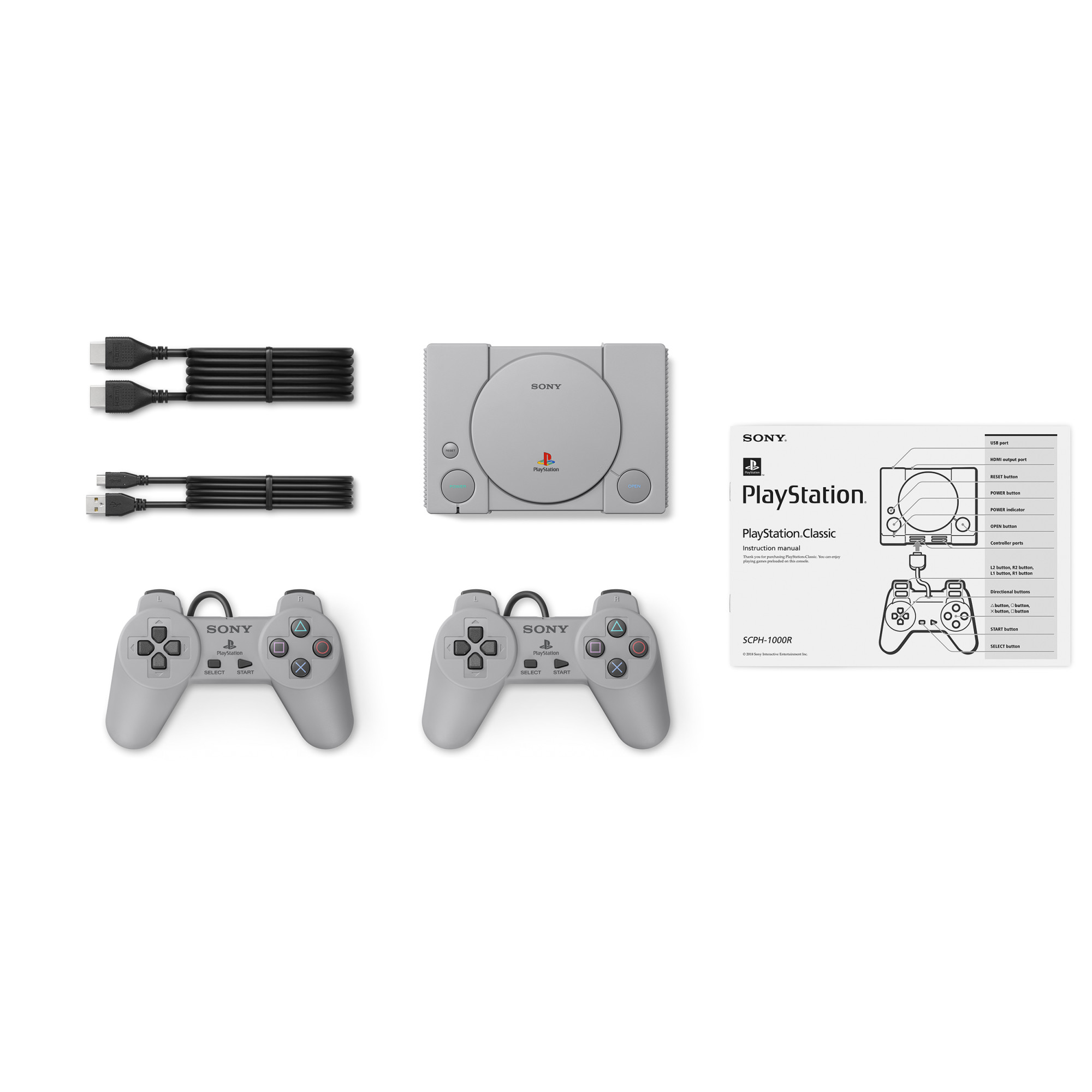 Consola Sony Playstation Classic + 20 jocuri preinstalate 5