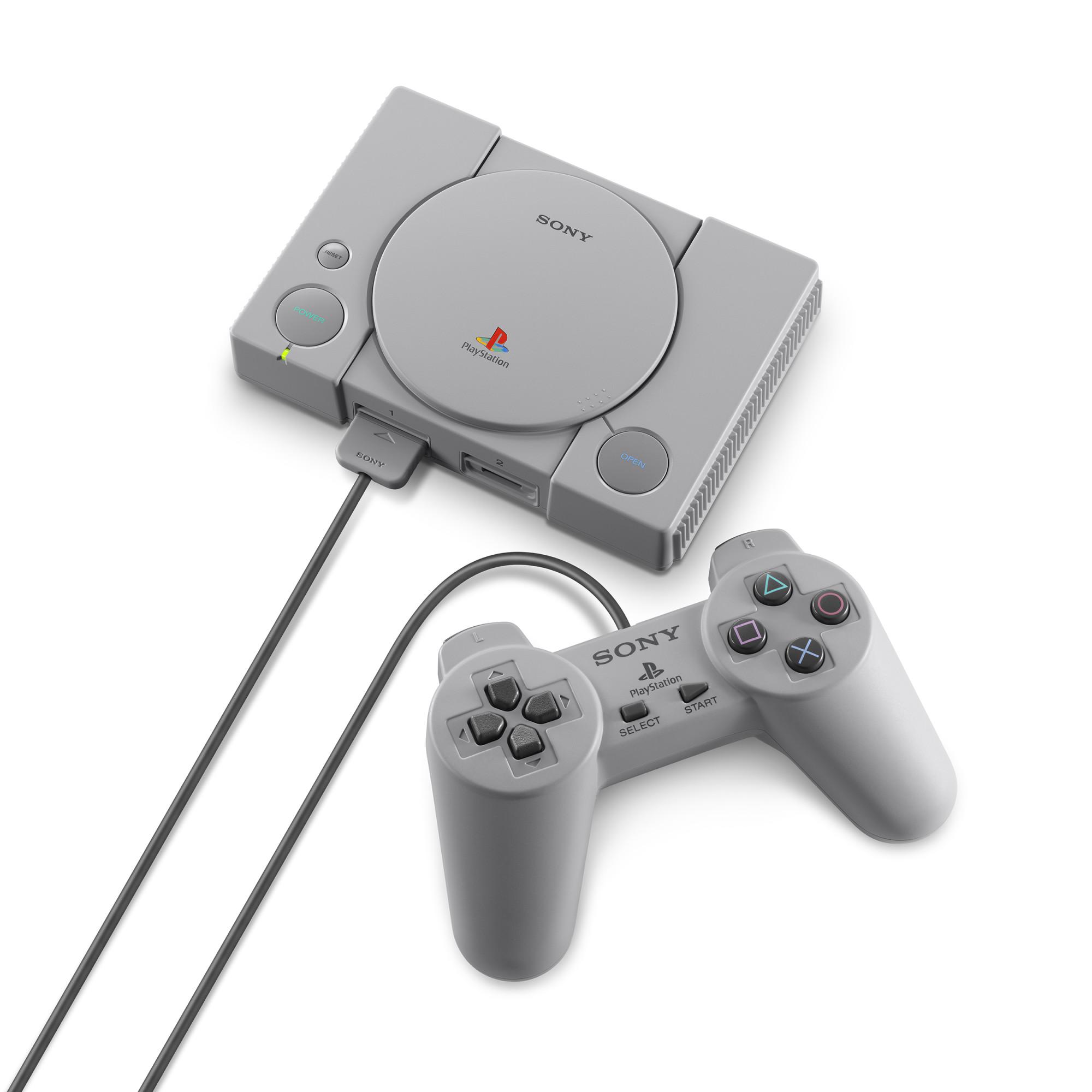 Consola Sony Playstation Classic + 20 jocuri preinstalate 8