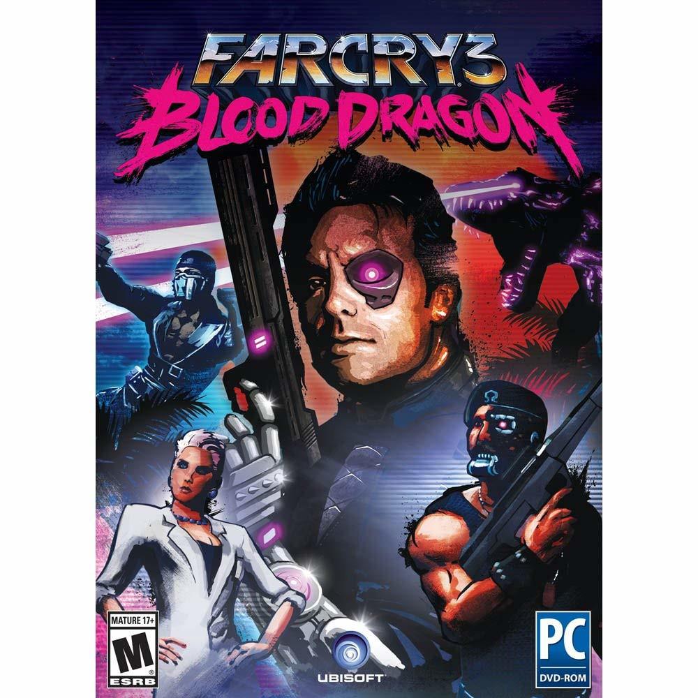 Joc Far Cry 3 Blood Dragon Pc Cd key (Cod Activare Uplay) 0