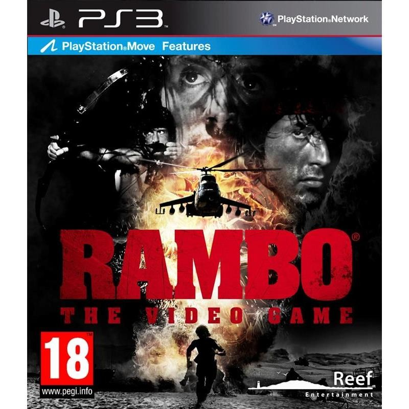 Joc Rambo The Video Game Ps3 0