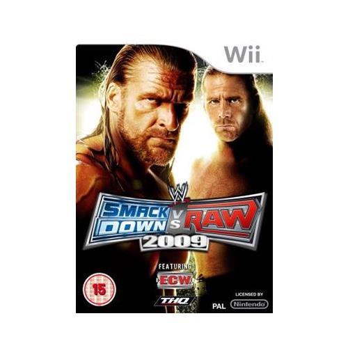 Joc Wwe Smackdown Vs. Raw 2009 Nintendo Wii 0