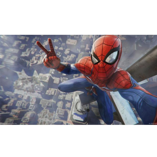 Consola SONY PS4 500GB CONSOLE + MARVEL'S SPIDER-MAN BUNDLE - Negru 3