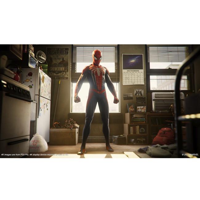 Consola SONY PS4 500GB CONSOLE + MARVEL'S SPIDER-MAN BUNDLE - Negru 4