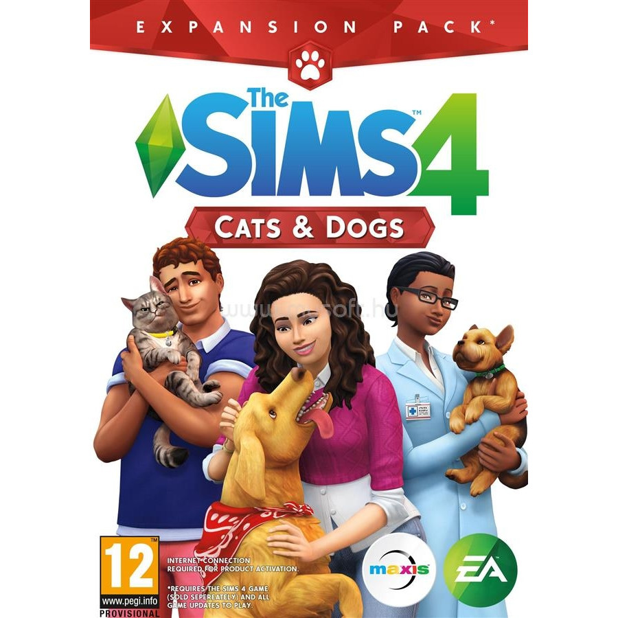 Joc The Sims 4 Cats and dogs, Hu/Ro 0