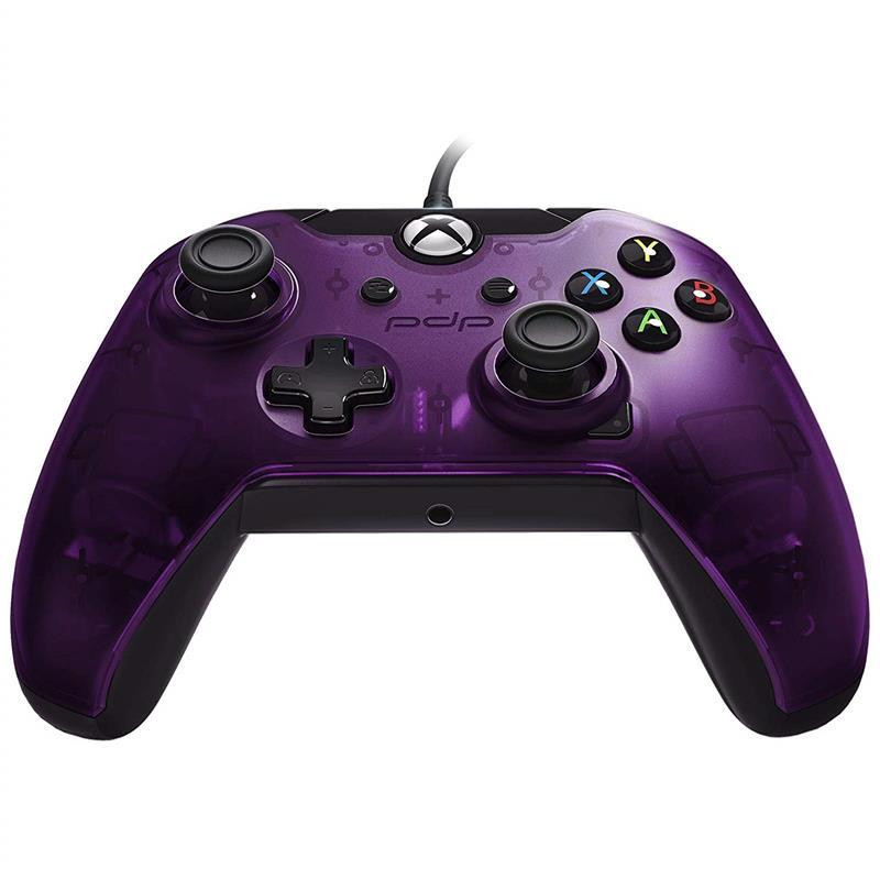 Controller Pdp Wired Purple Xbox One 0