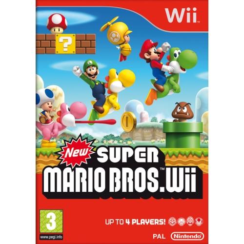 Joc New Super Mario Bros, pentru Wii 0