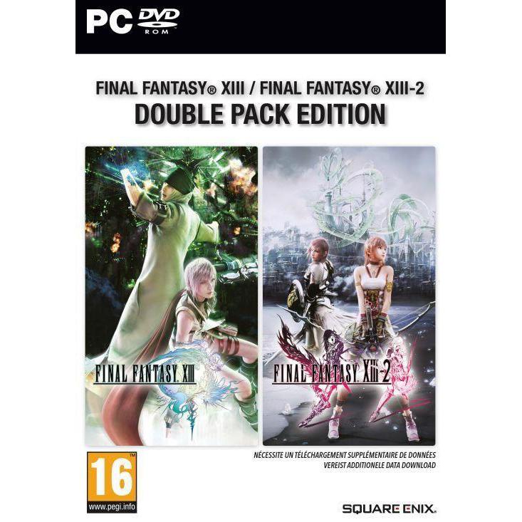 Final Fantasy XIII & Final Fantasy XIII-2 Double Pack pentru PC 0