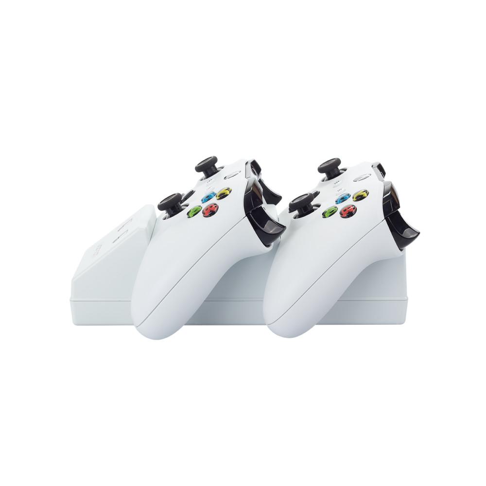 Statie de andocare pentru controlerele Xbox One combinata cu 2 baterii reincarcabile, Venom, Alb 4