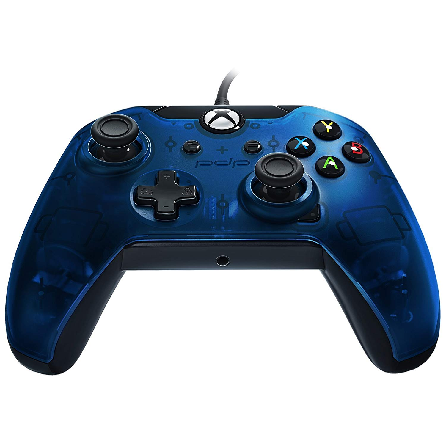 Controller PDP Wired Blue pentru Xbox One 2