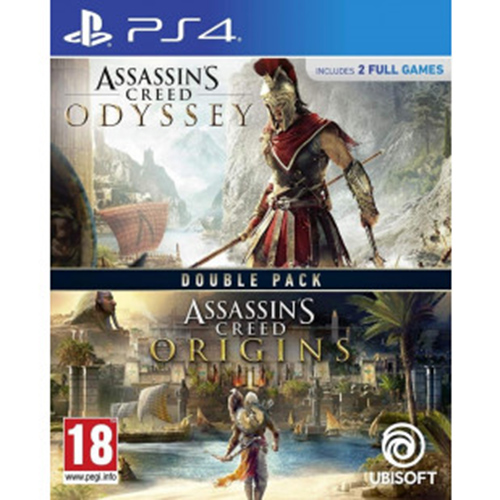 Joc ASSASSINS CREED ODYSSEY & ASSASSINS CREED ORIGINS COMPILATION pentru Playstation 4 0