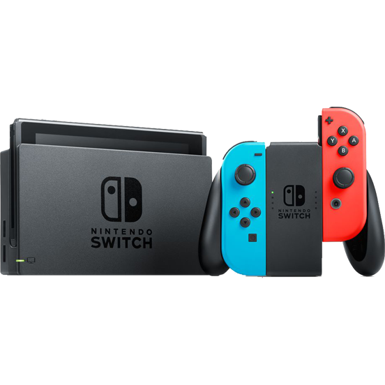 Consola NINTENDO SWITCH (WITH NEON RED & NEON BLUE JOY-CONS) 7