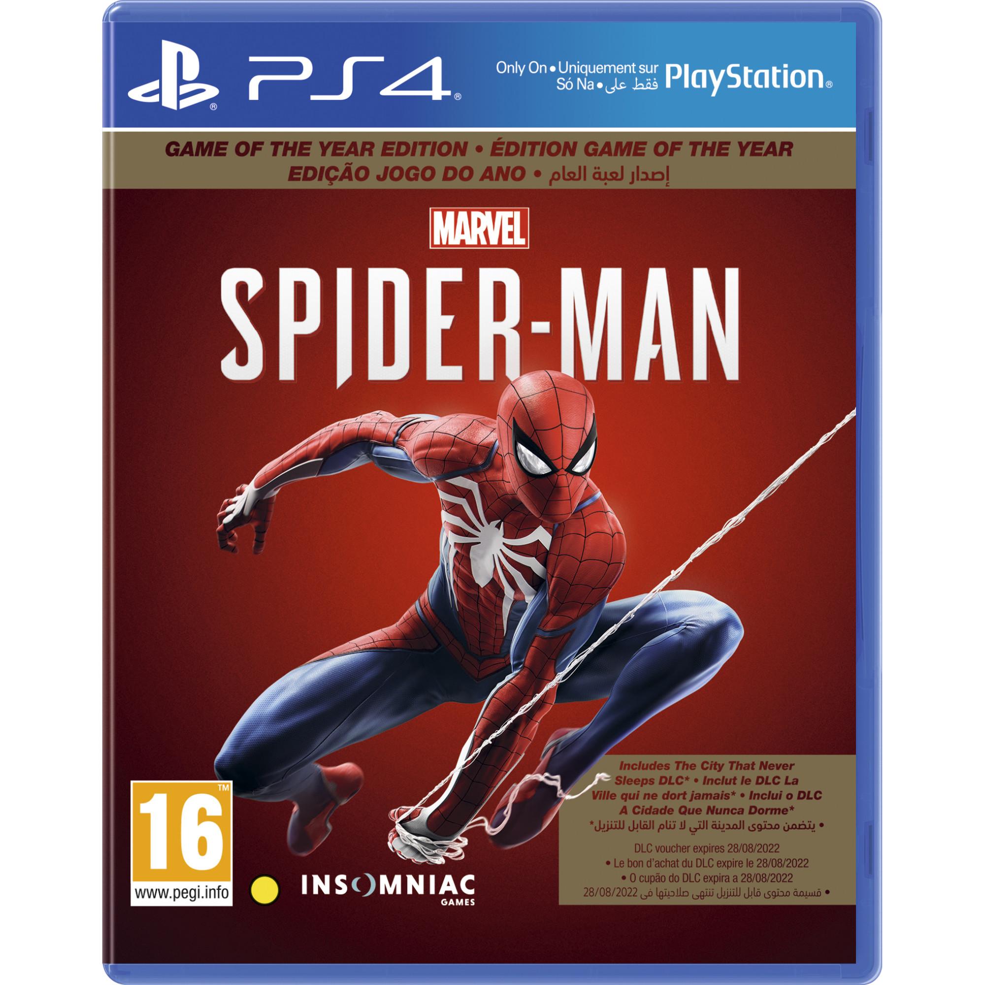 Joc Marvel's Spider-Man GOTY pentru Playstation 4 0