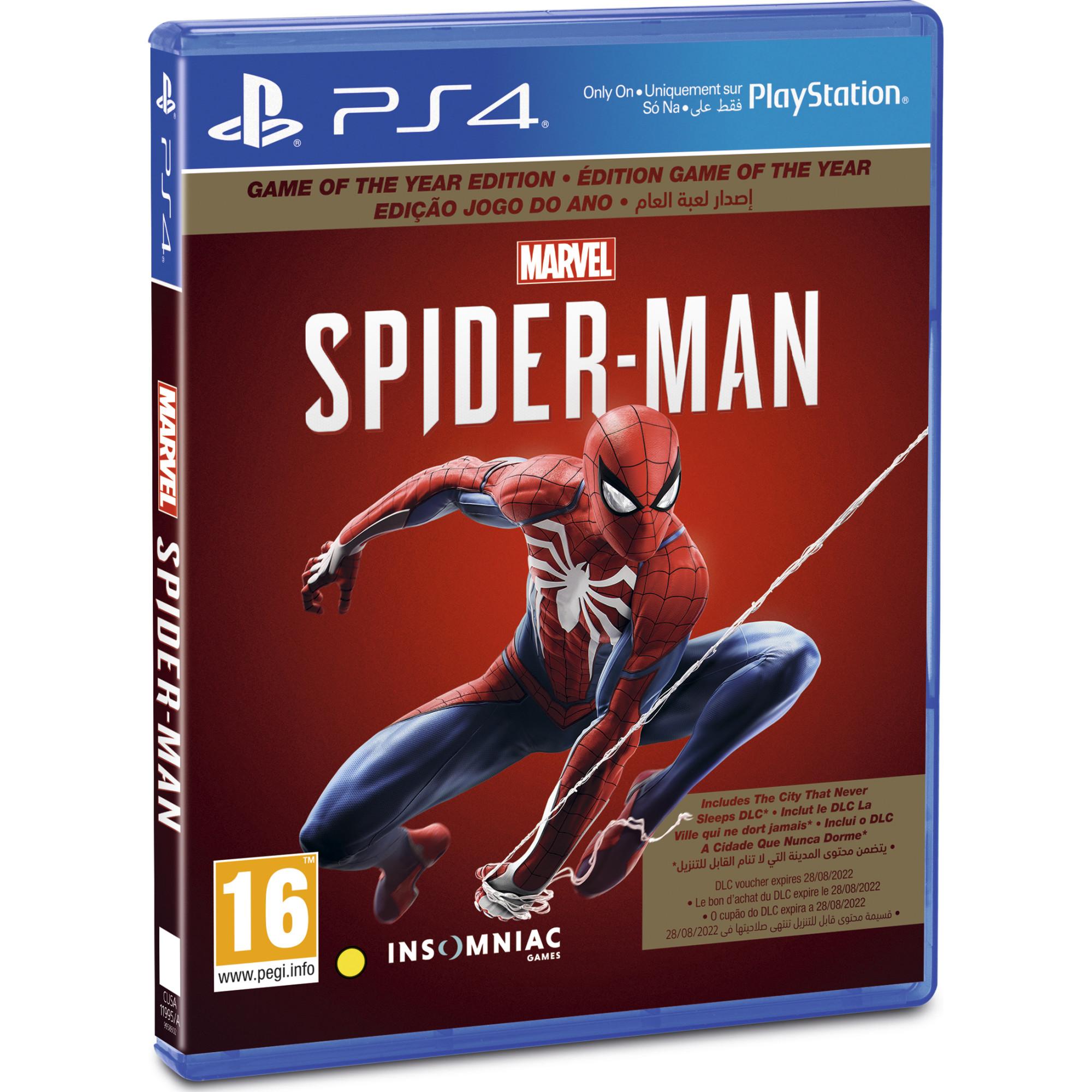 Joc Marvel's Spider-Man GOTY pentru Playstation 4 1