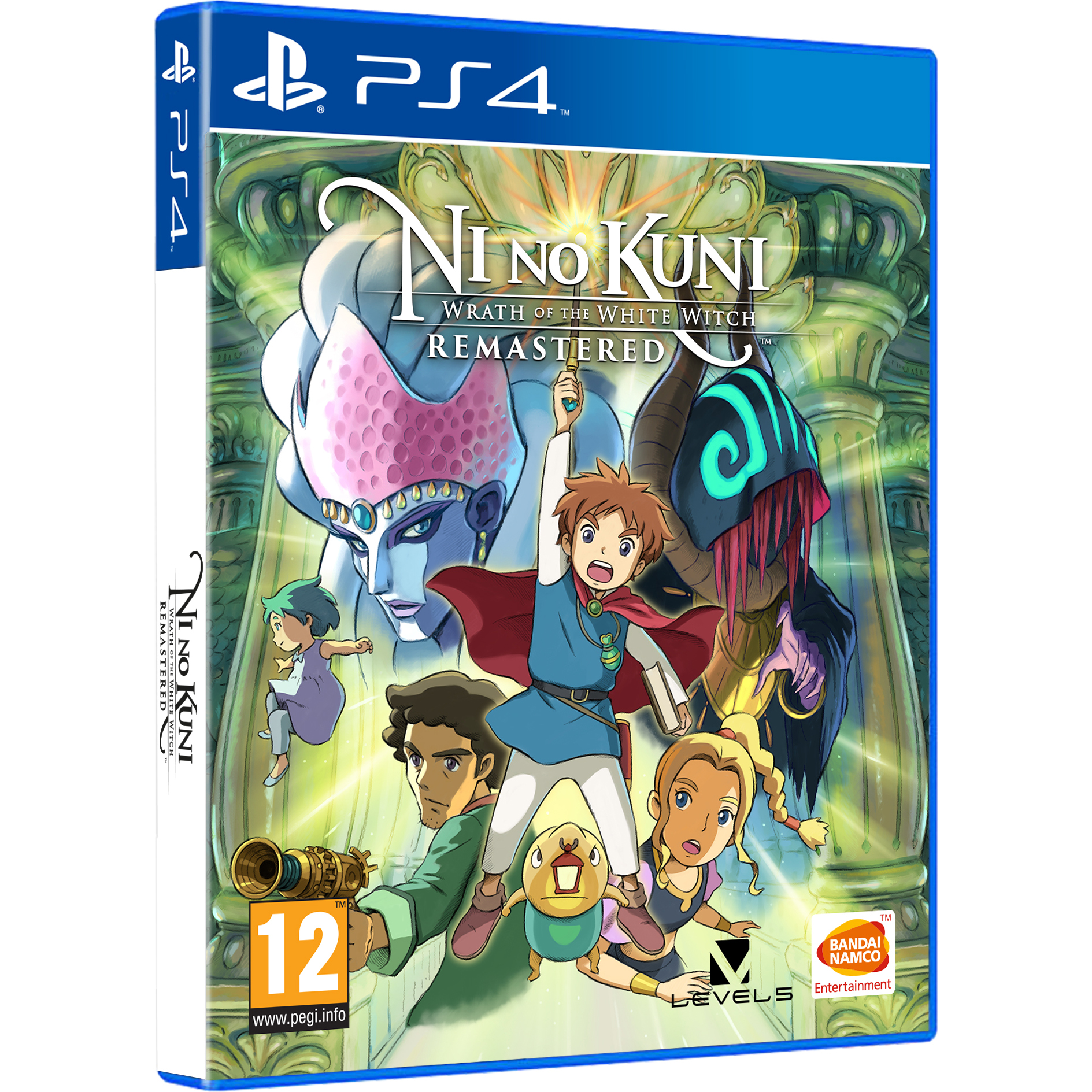 Joc NI NO KUNI: WRATH OF THE WHITE WITCH REMASTERED pentru PlayStation 4 0