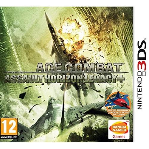 Ace Combat Assault Horizon Legacy+ Nintendo 3DS 0