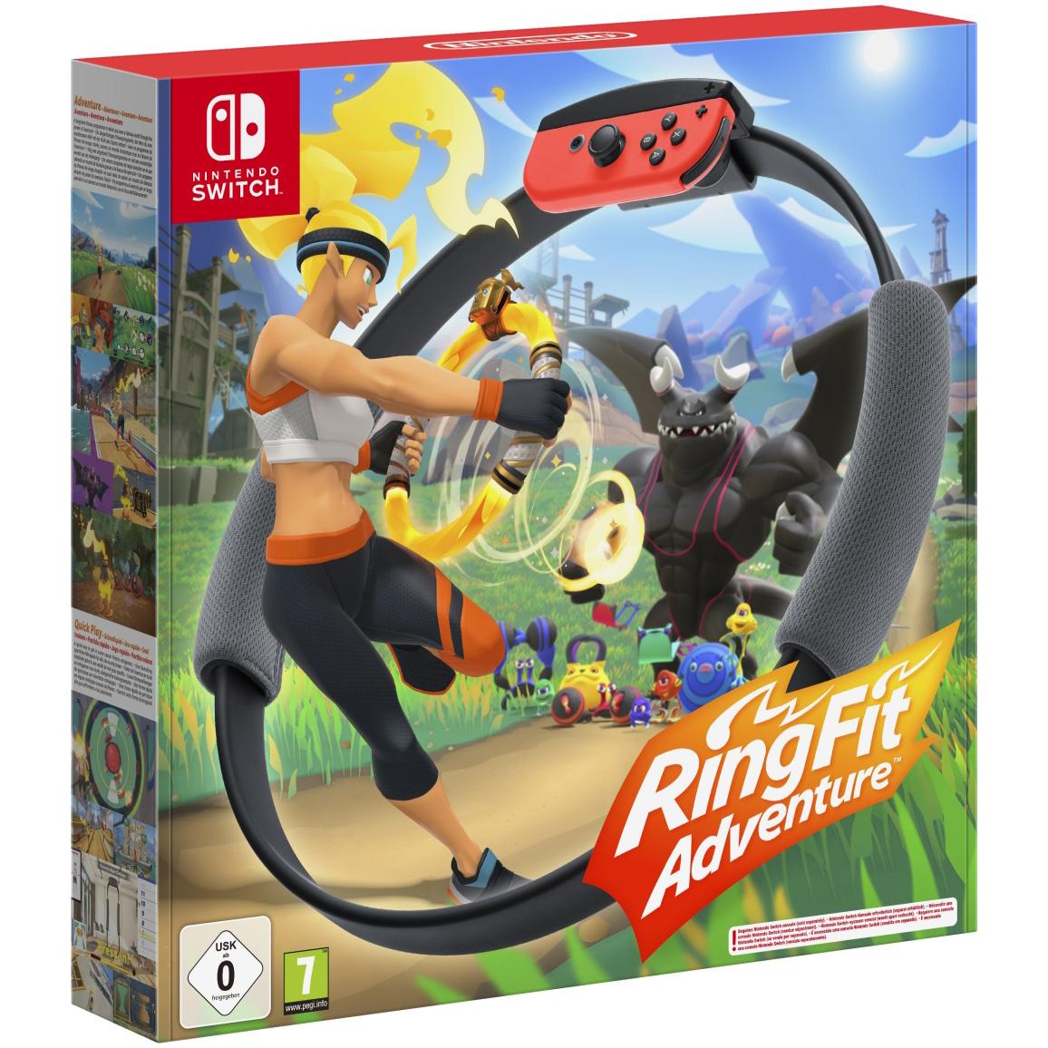 Joc Ring Fit Adventure + Ring-Con + Leg Strap, pentru Nintendo Switch 0