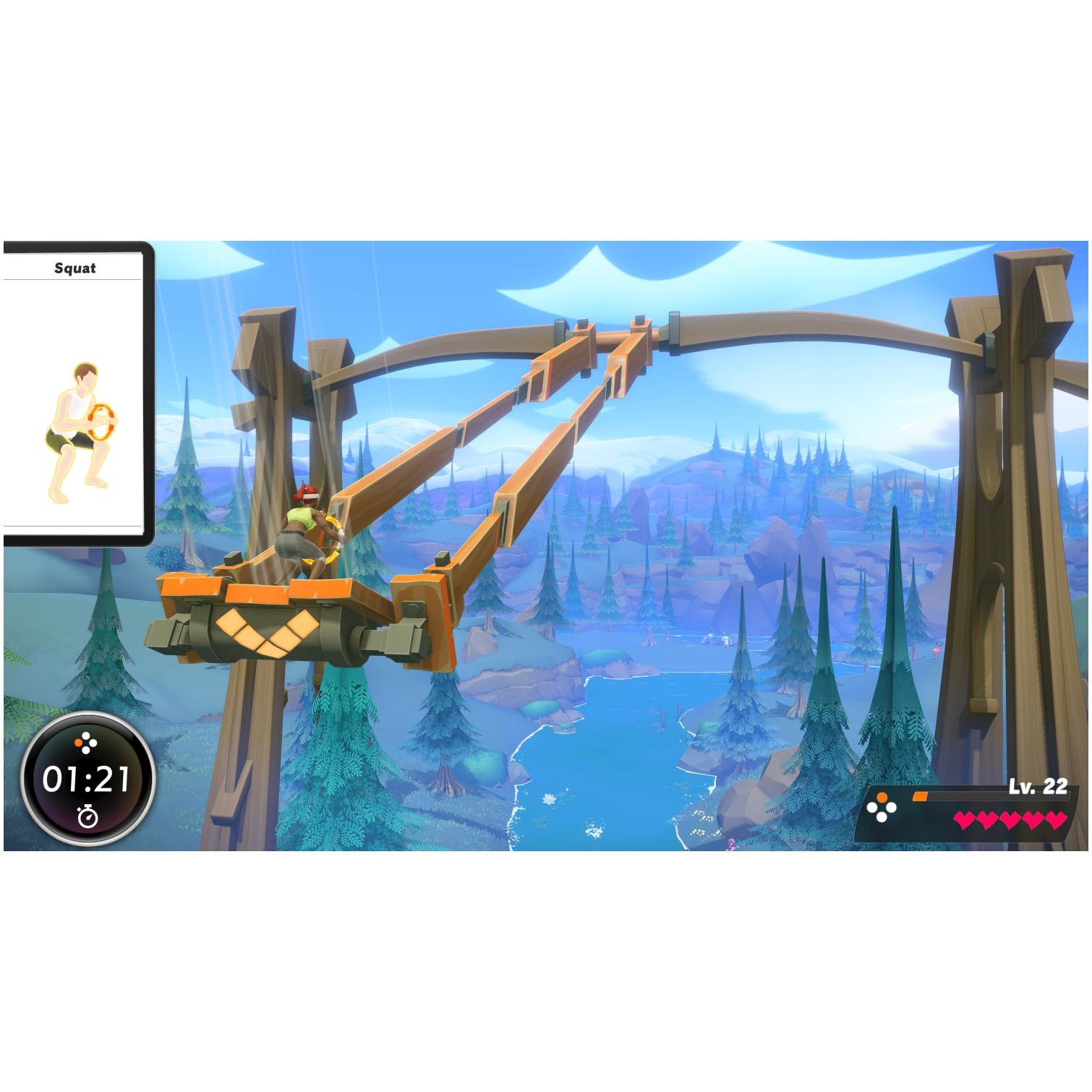 Joc Ring Fit Adventure + Ring-Con + Leg Strap, pentru Nintendo Switch 3