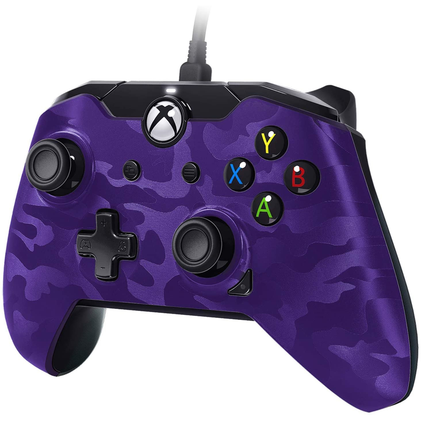 Controller Deluxe Wired Purple Camouflage Xbox One 0
