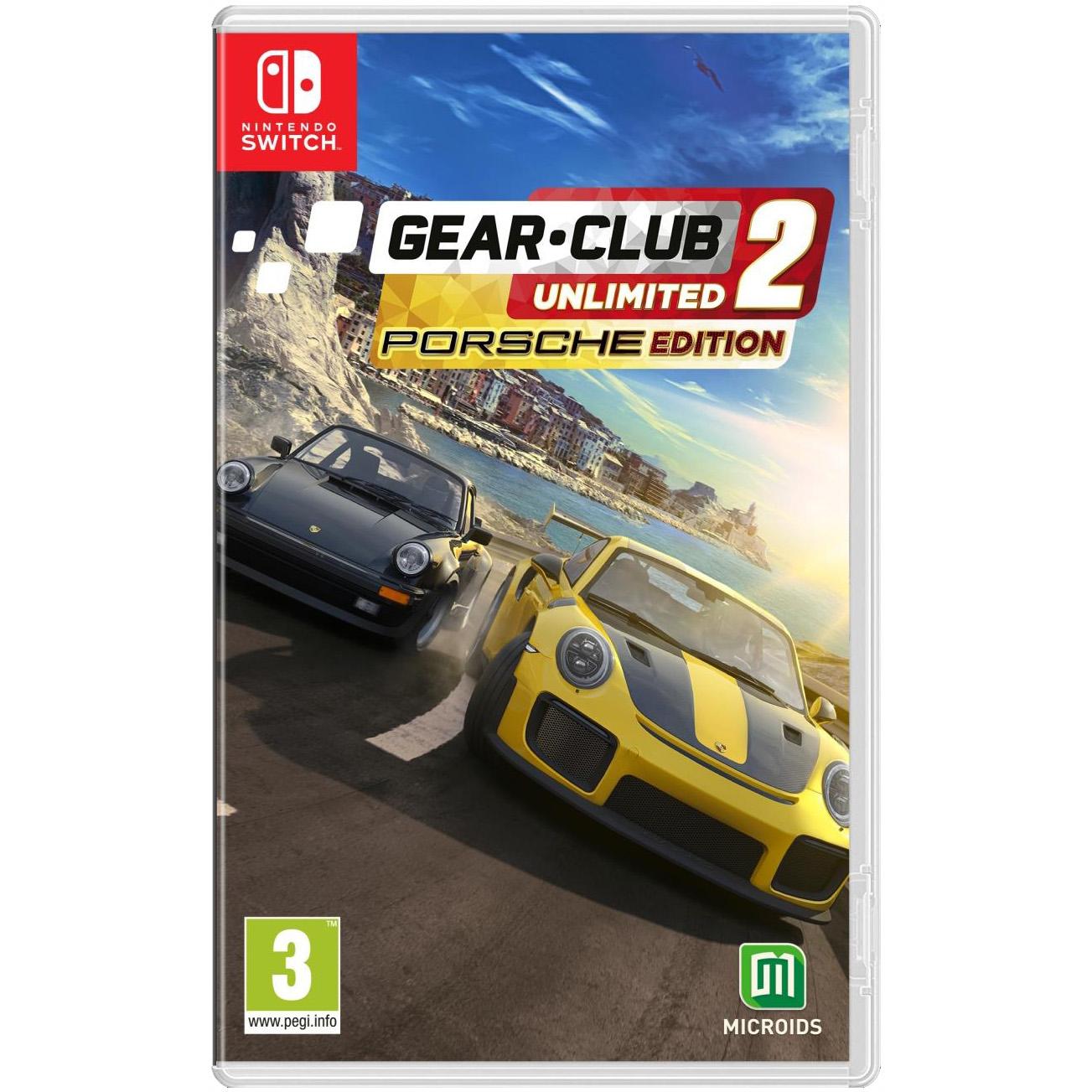 Joc Gear Club Unlimited 2 Porsche Edition pentru Nintendo Switch 0