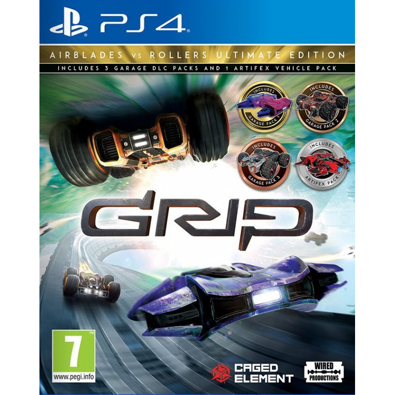 Joc GRIP: Combat Racing - Airblades vs Rollers - Ultimate Edition (EU) Pentru PlayStation 4 0