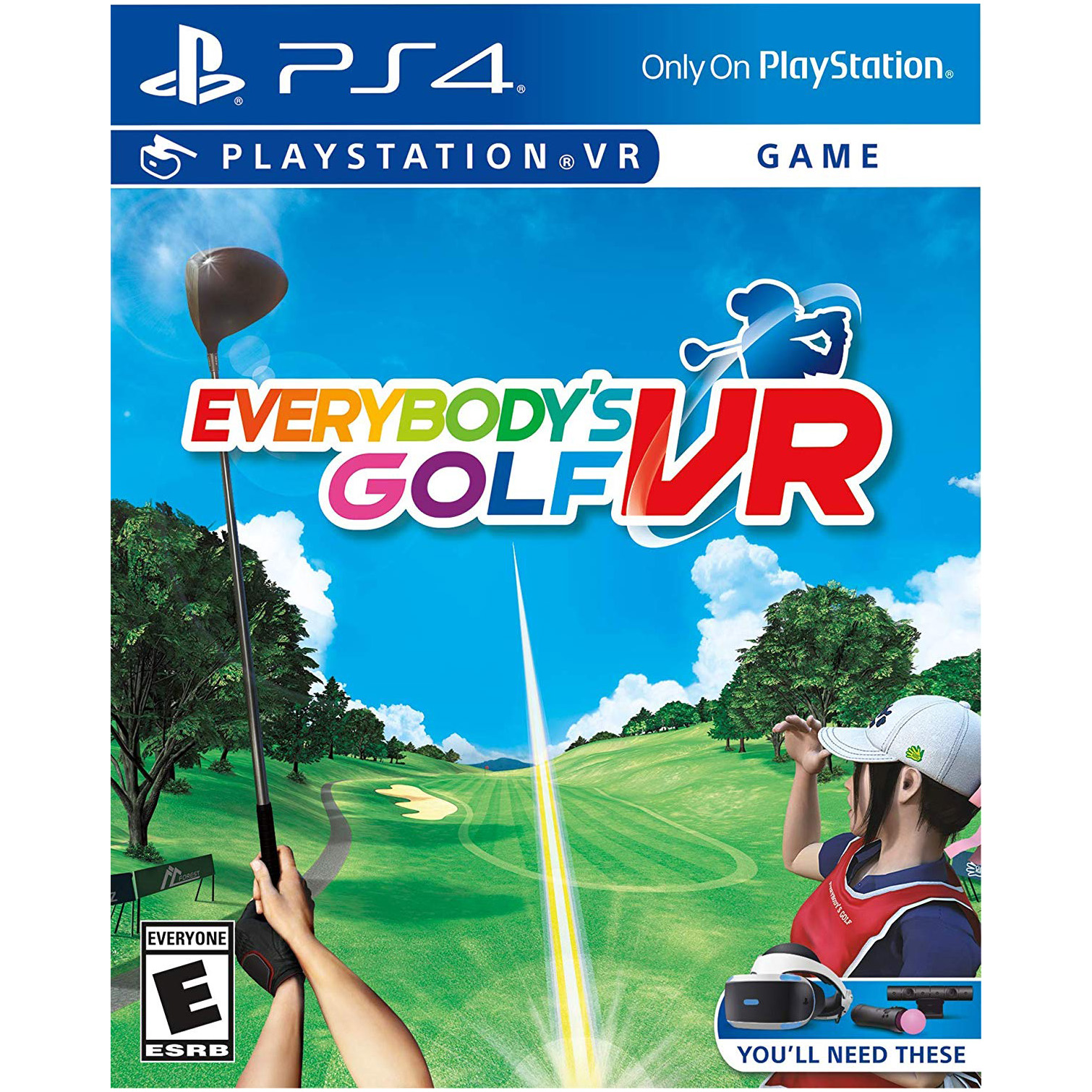 Joc Everybody's Golf VR pentru PlayStation 4 0