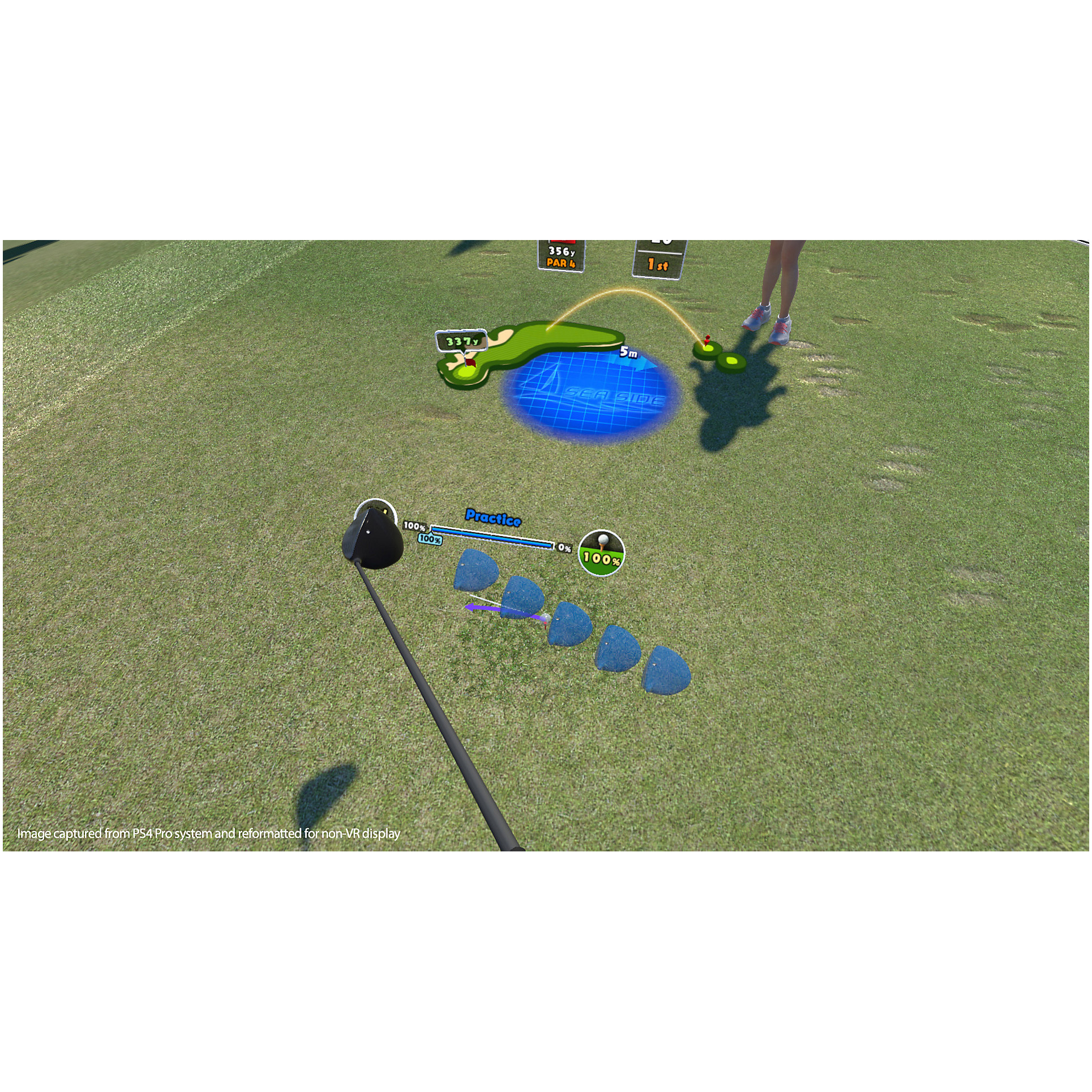 Joc Everybody's Golf VR pentru PlayStation 4 1