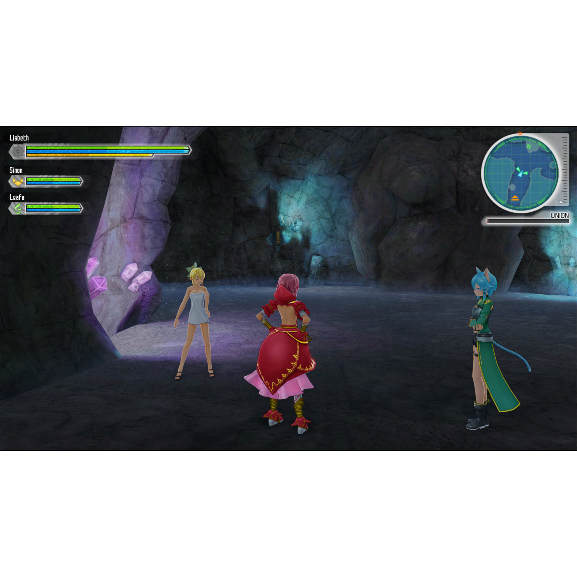 Joc Sword Art Online 3 Lost Song Pentru PlayStation 43