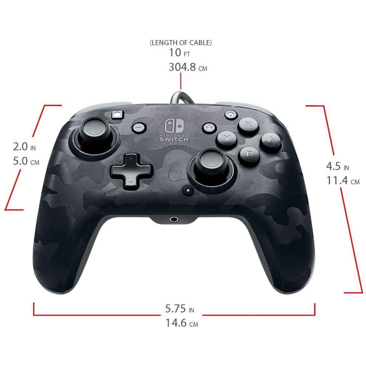 Controller Face Off Deluxe Audio Camo Black Nintendo Switch 5