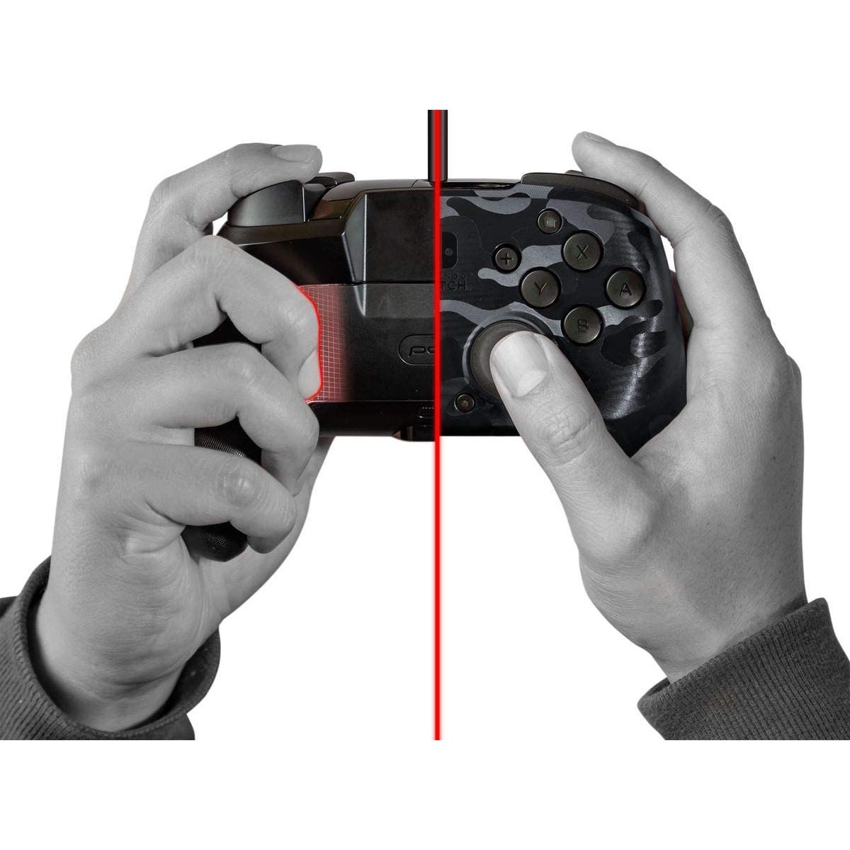 Controller Face Off Deluxe Audio Camo Black Nintendo Switch 8