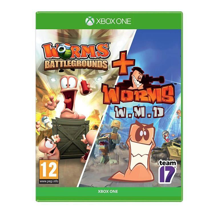 Joc Worms Battlegrounds + Worms WMD Xbox One 0