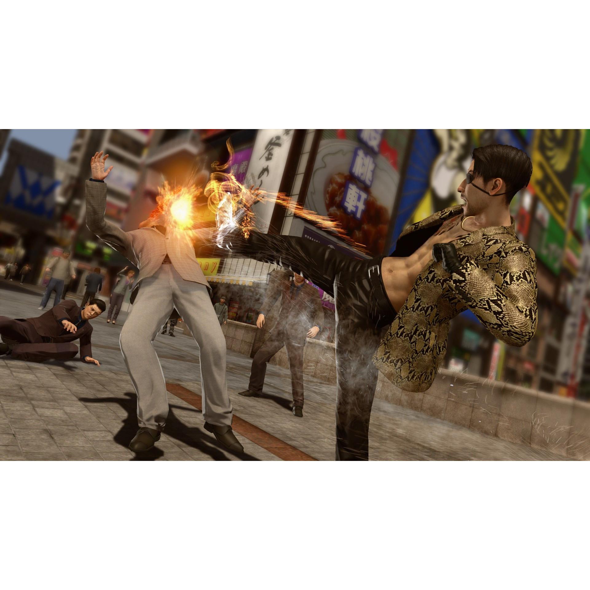 Joc Yakuza Kiwami 2 Pentru PlayStation 4 2