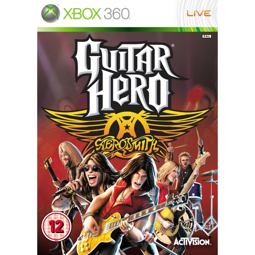 Joc Guitar Hero Aerosmith Standalone Game pentru Xbox 360 0