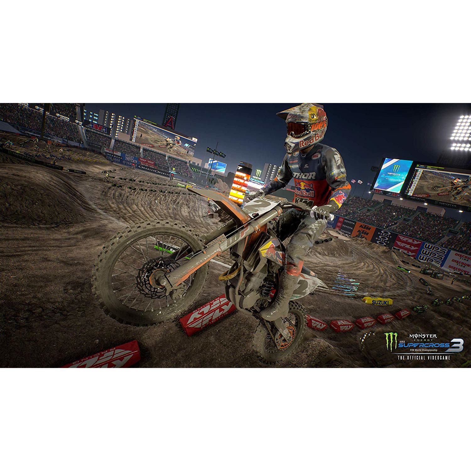 Joc Monster Energy Supercross 3 Pentru Nintendo Switch 5
