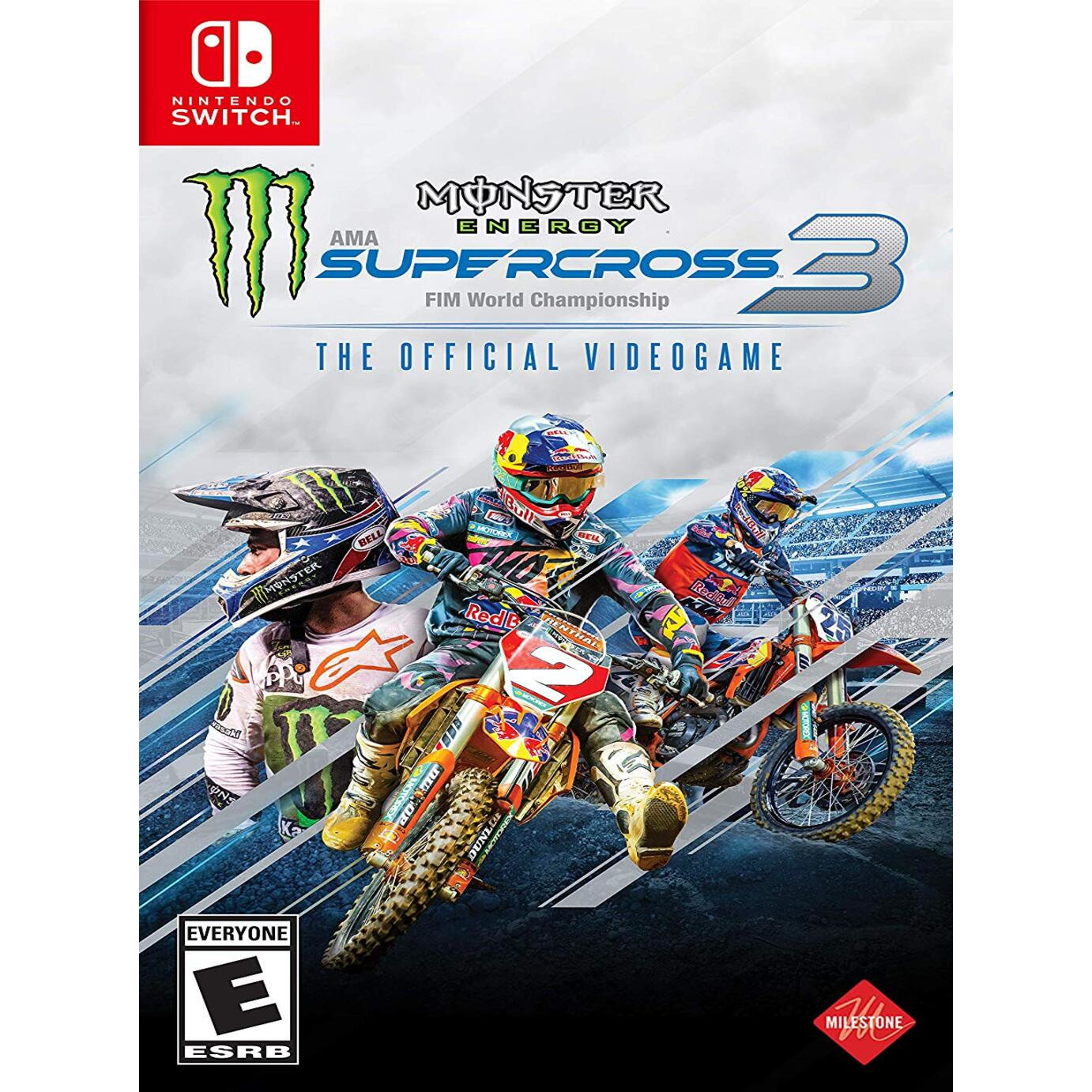 Joc Monster Energy Supercross 3 Pentru Nintendo Switch 0