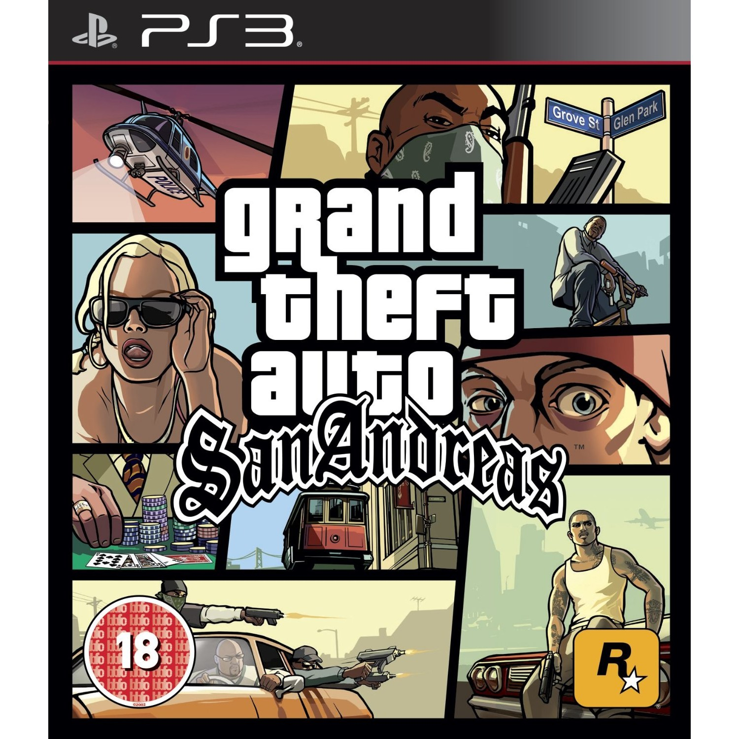 Joc Grand Theft Auto San Andreas ( GTA ) PS 3 0