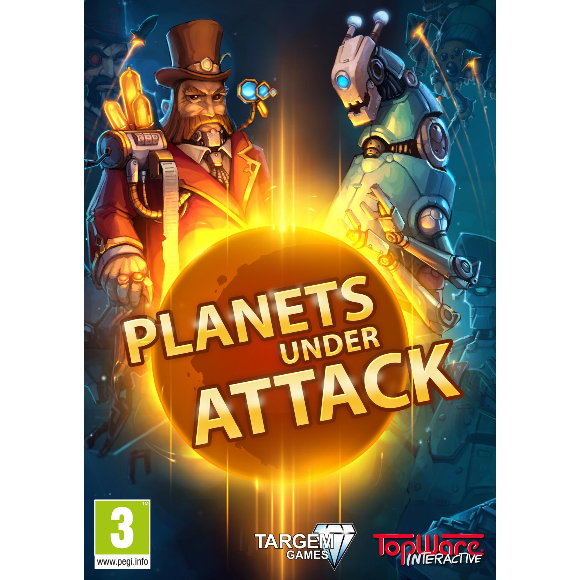 Joc Planets Under Attack Steam Pentru Calculator 0