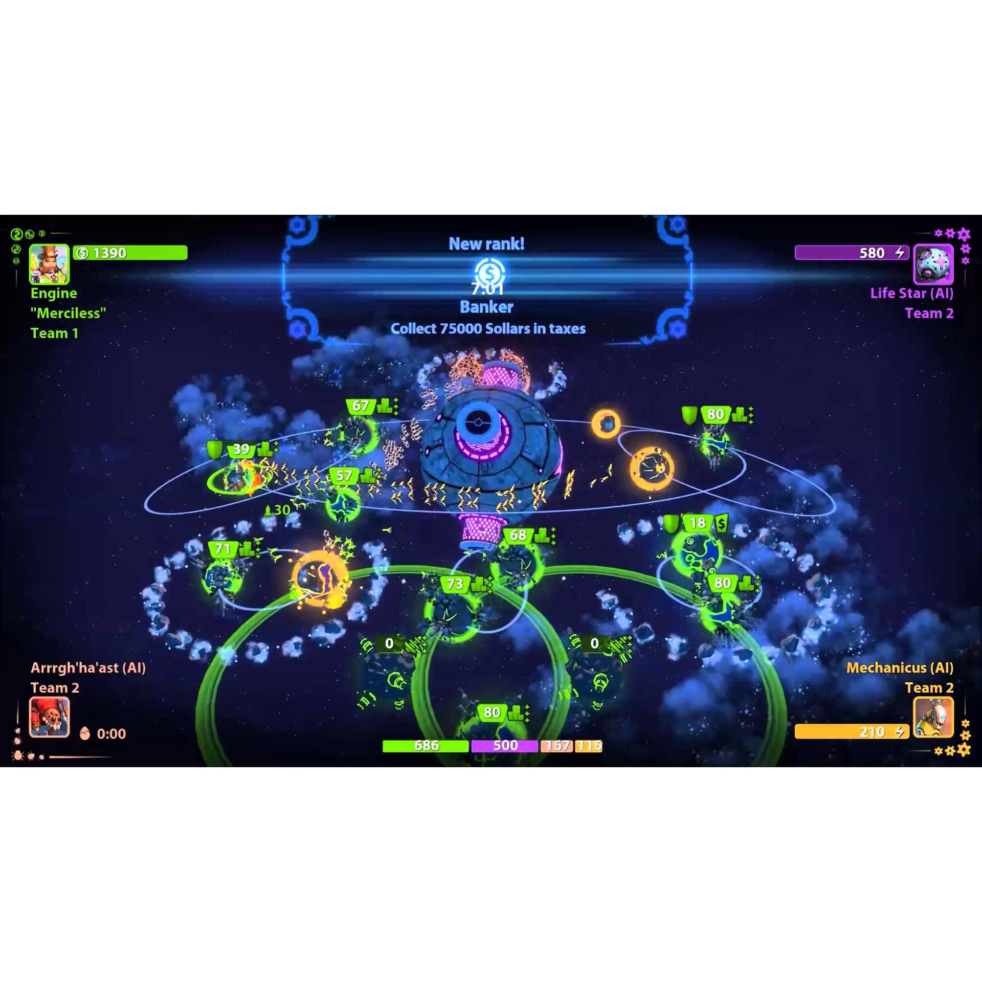 Joc Planets Under Attack Steam Pentru Calculator 2