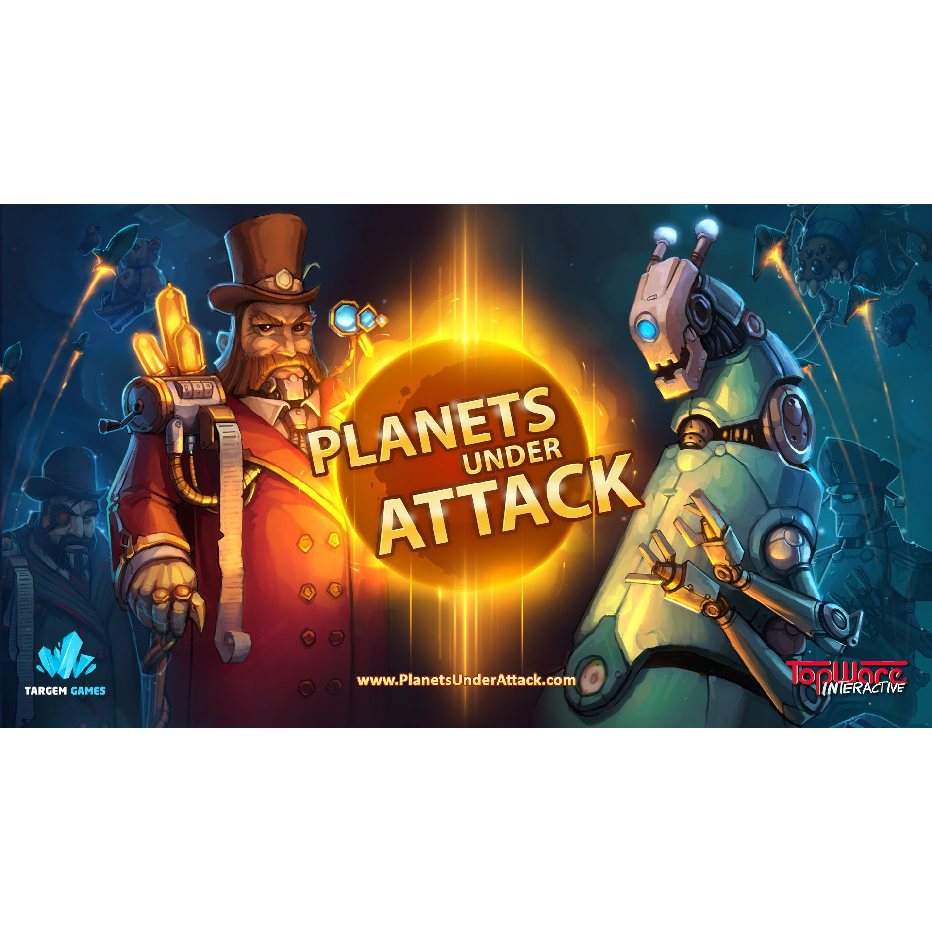 Joc Planets Under Attack Steam Pentru Calculator 4