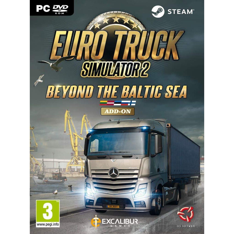 Joc Euro Truck Simulator 2 Beyond the Baltic Sea Steam Key Pentru Calculator 0