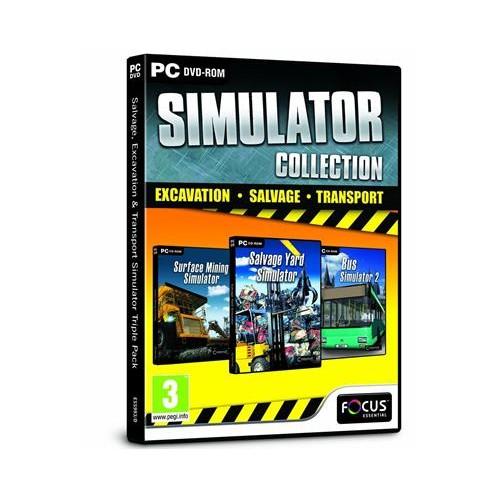 Joc Salvage, Excavation And Transport Simulator Triple Pack Pc 0